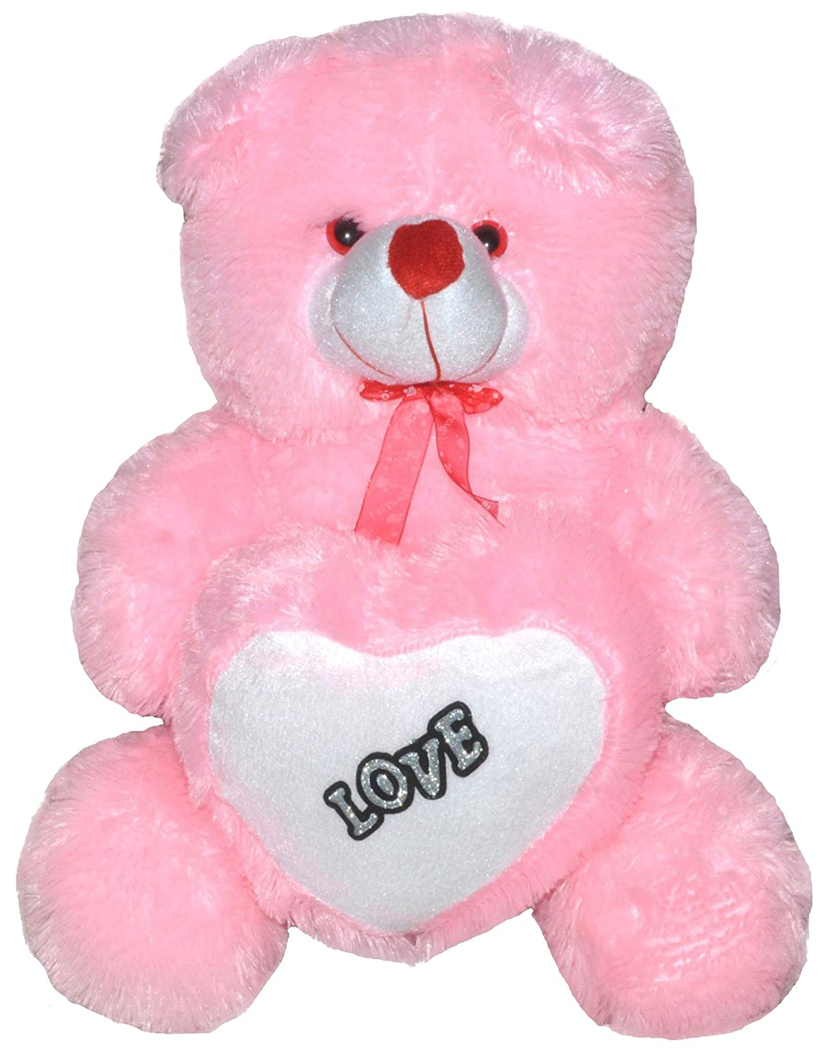 Buy richy toys 50 cm love heart stuffed soft plush toy kids buy richy toys 50 cm love heart stuffed soft plush toy kids birthday teddy bear pink online at low prices in india amazon fandeluxe Ebook collections