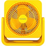 Crompton Bubbly 200mm Personal Fan (Yellow)
