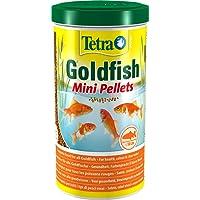 Tetra Pond Goldfish Mini Pellet Food, Complete Fish Food for All Goldfish, 1 Litre