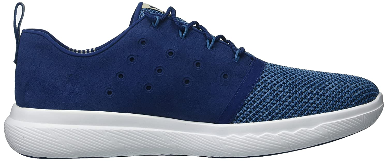 Mens Charged 24/7 Low EXP, Blackout Navy/Chicago Blue/Blackout Navy, 12 D(M) US Under Armour
