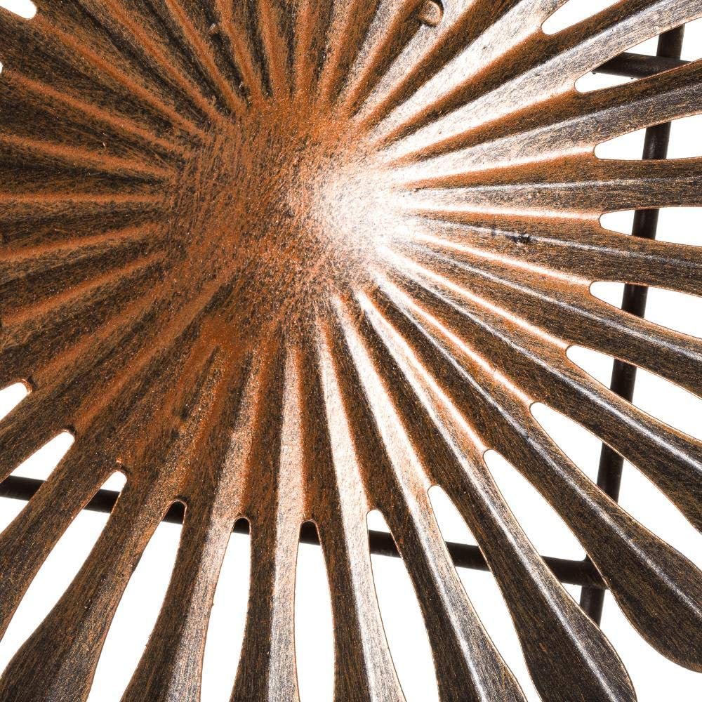 Mural de Pared de c/írculos Industrial de Metal de 46x72 cm LOLAhome