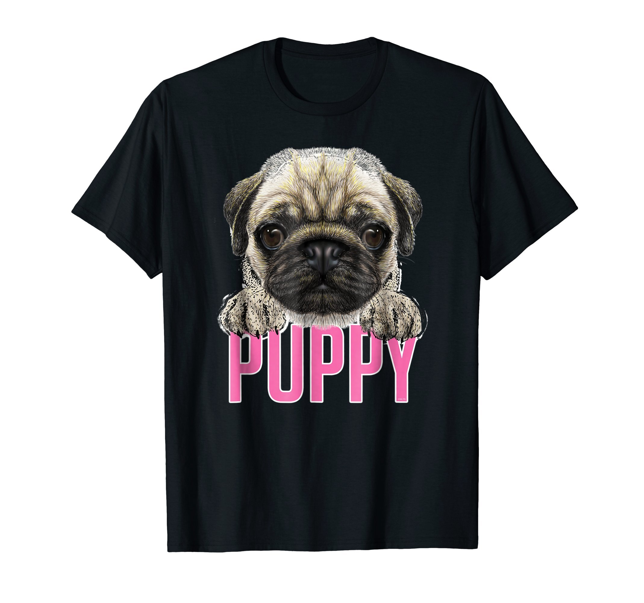Pug-Puppy-Girl-Funny-Humor-T-Shirt-Shirt-Tee-Gift