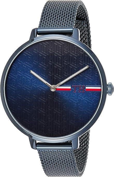 Tommy Hilfiger Reloj Analógico para Mujer de Cuarzo con Correa en Acero Inoxidable 1782159