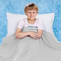 KPBLIS Cooling Blanket for Kids, Cool Summer Blanket for Hot Sleepers, Thin Blanket for Summer, Bamboo Lightweight…
