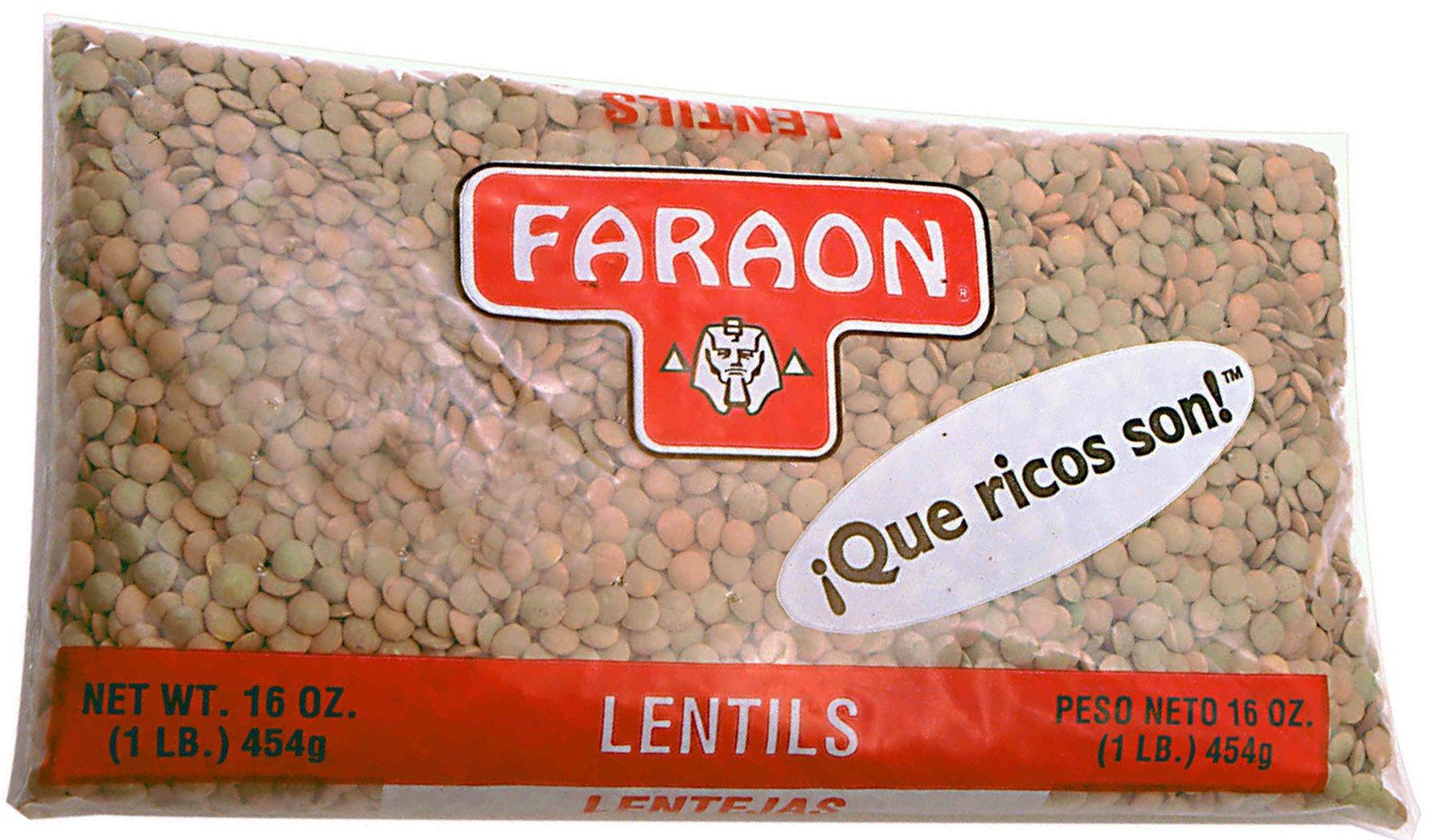 FARAON Lentils, 1 Pound (Pack of 24)