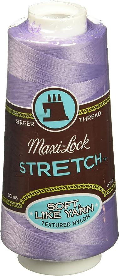 2000yd American /& Efird AME54.32131 Red Currant Maxi Lock Stretch Thread