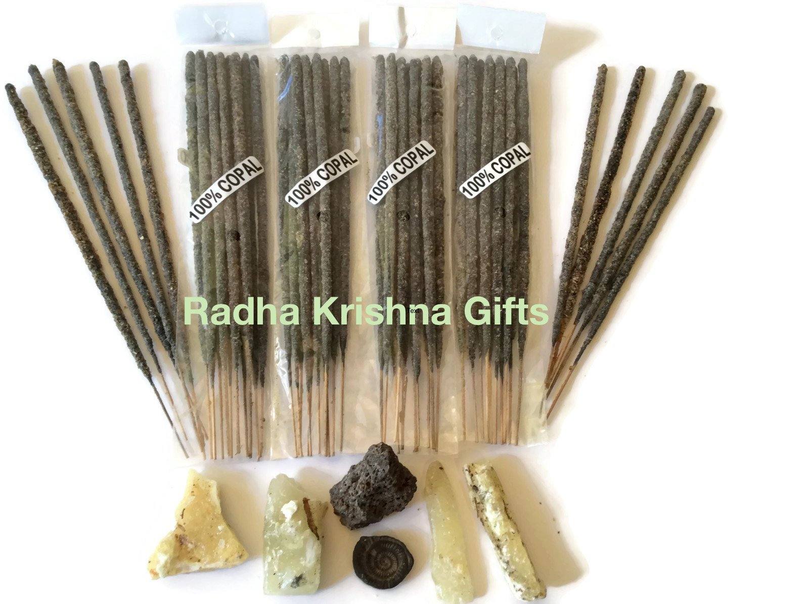 Mexican Copal Incense, 2,000 Sticks Handmade in Mexico with Authentic Copal Resin.
