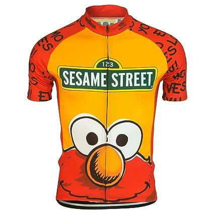 Elmo Loves You Muppets Sesame Street Cycling Jersey by Brainstorm Gear  Women s Medium Short Sleeve 9b4e4b32e