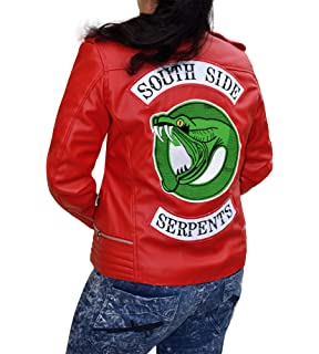 Cup Of Fashion Riverdale Southside Serpents Leather Jacket for Women
