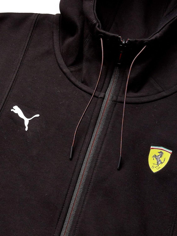 PUMA Mens Scuderia Ferrari Hooded Sweat Jacket