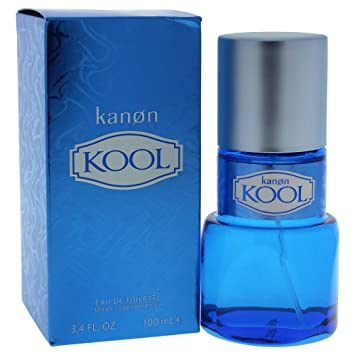 KANON Kool Cologne Eau De Toilette Spray, 3.4 Fluid Ounce
