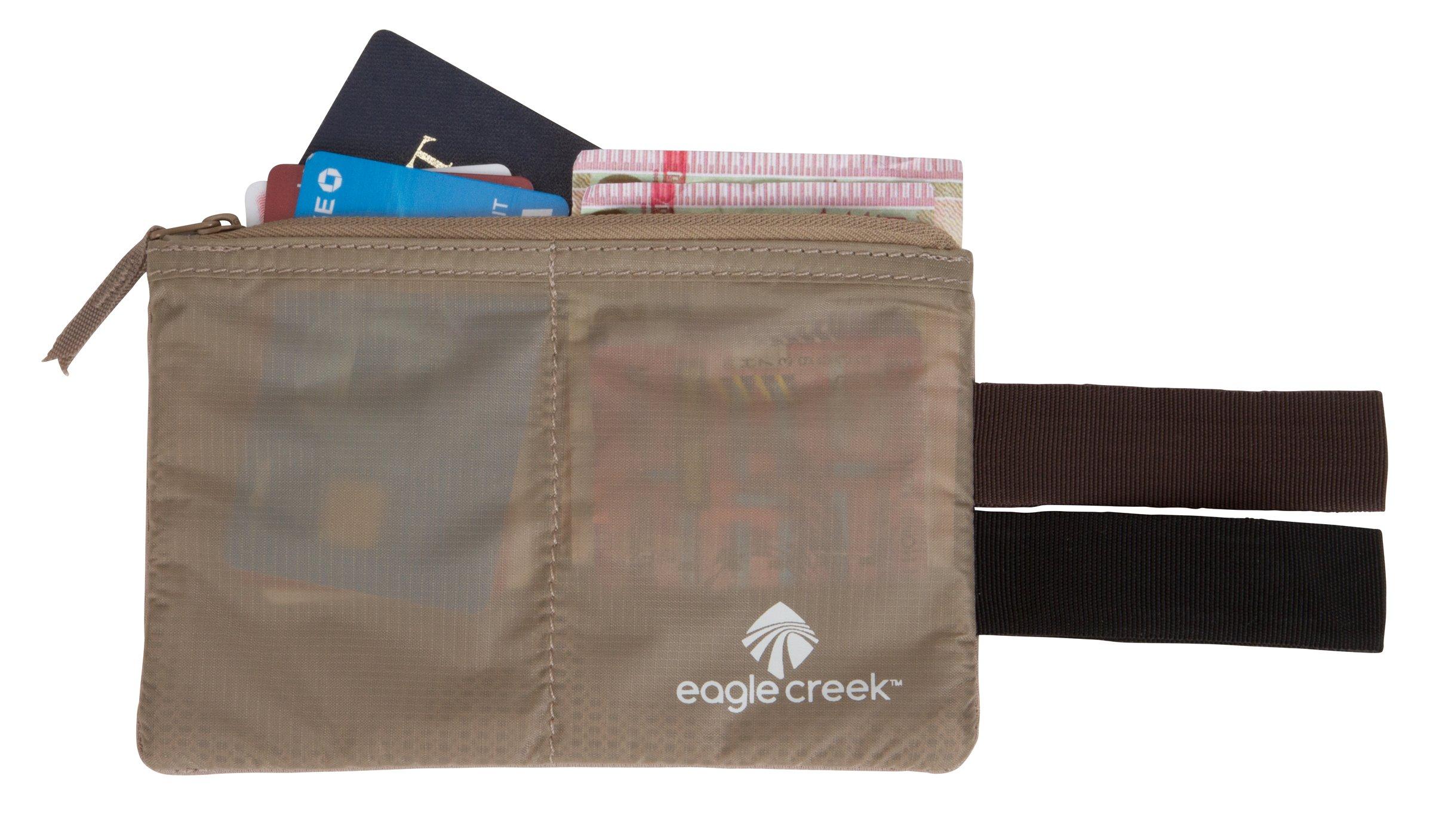 Eagle creek travel gear undercover hidden pocket khaki amazon for Travel gear hidden pocket