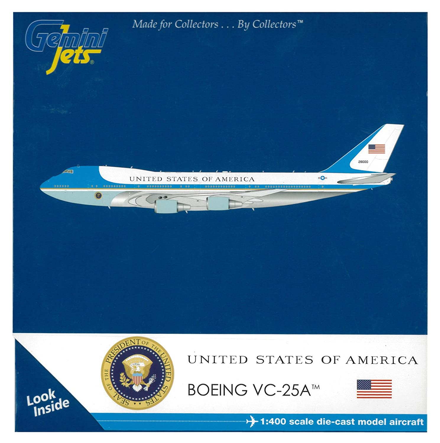 Gemini Jets Air Force One Boeing VC-25A (Boeing 747-200B) GJAFO1208