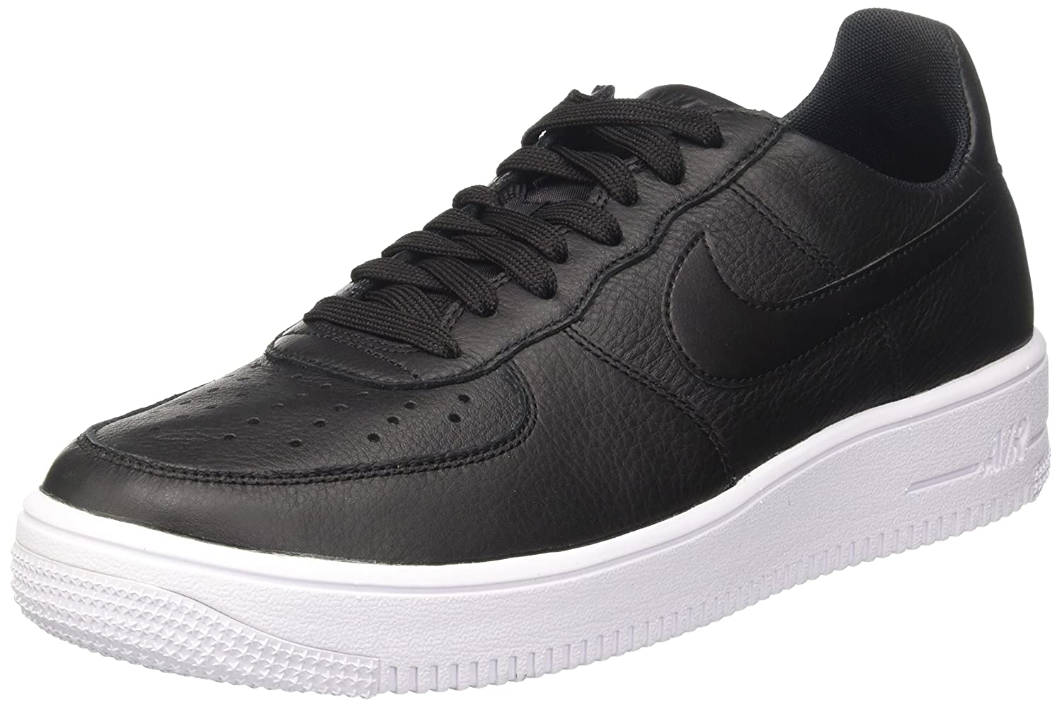 NIKE Men's Air Force 1 Ultraforce Leather Basketball Shoe B00AMASZ7I 8 D(M) US|Black / Black-white