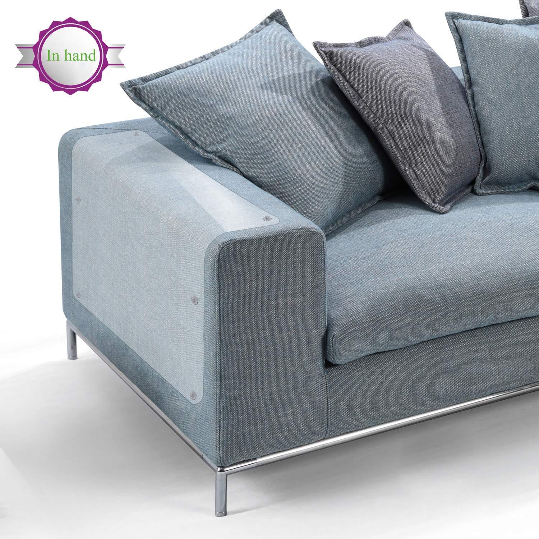Protectores de arañazos para muebles de gato, de vinilo flexible de alta calidad con clavijas para proteger tus muebles tapizados, 18