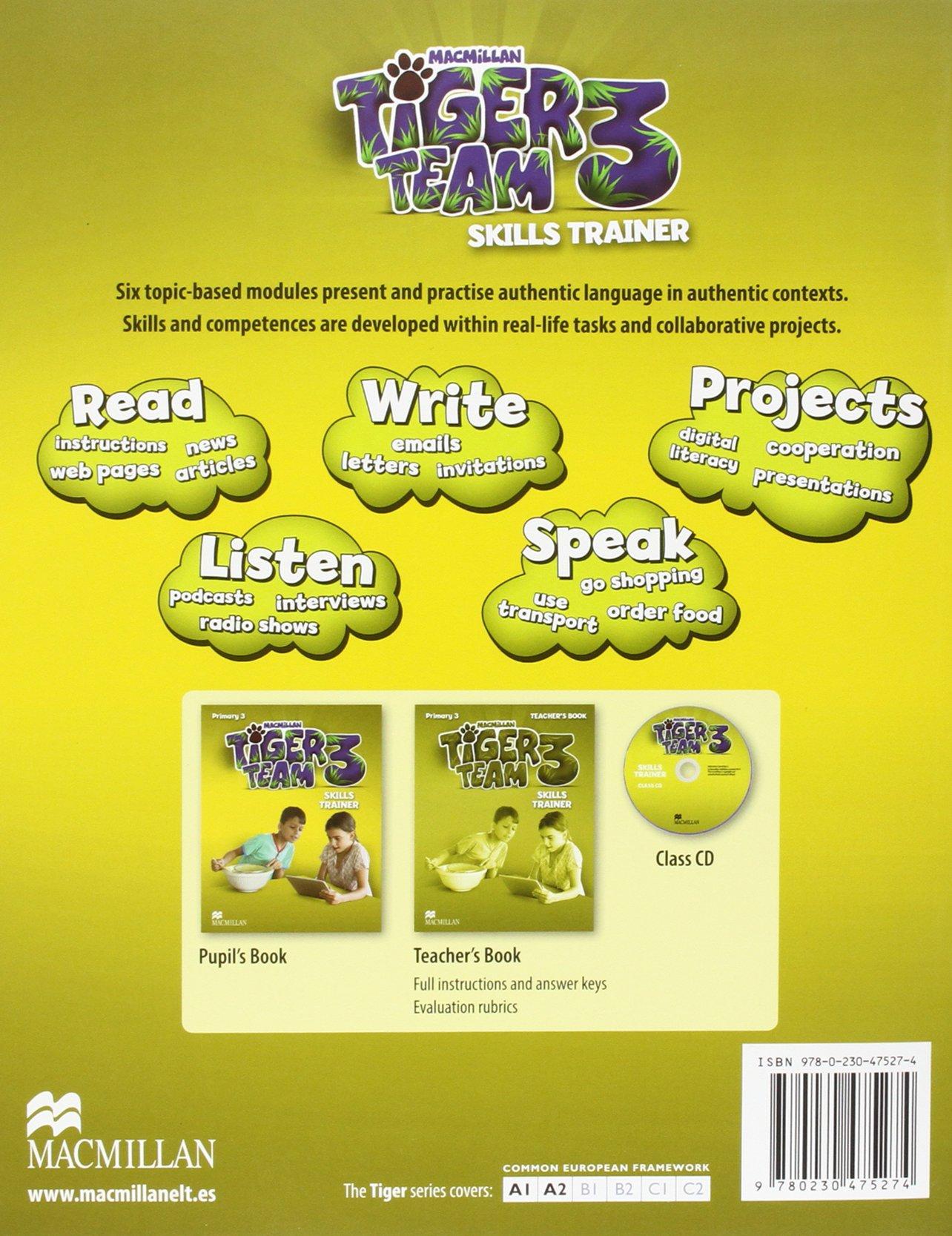 TIGER 3 Ab A Pk 2014 - 9780230475472: Amazon.es: Read, C., Ormerod, M.: Libros en idiomas extranjeros