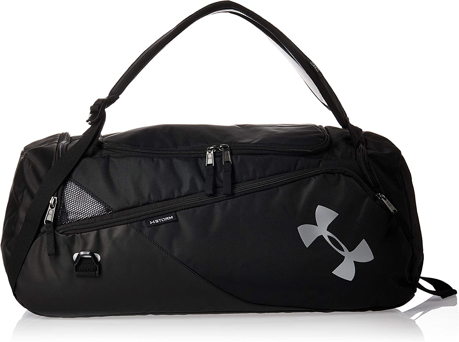 Under Armour Adult Contain Duo 2 Duffle Bag Black 001 Silver One Size Fits All Clothing