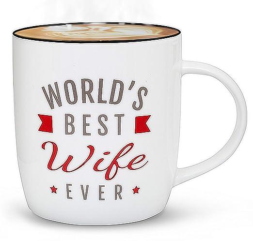 Gifffted Taza para El Mujer Esposa, Regalos Esposa ...