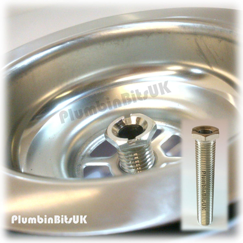McAlpine BWSTSS 1 1 2 Inch Basket Strainer Waste Stemball Plug