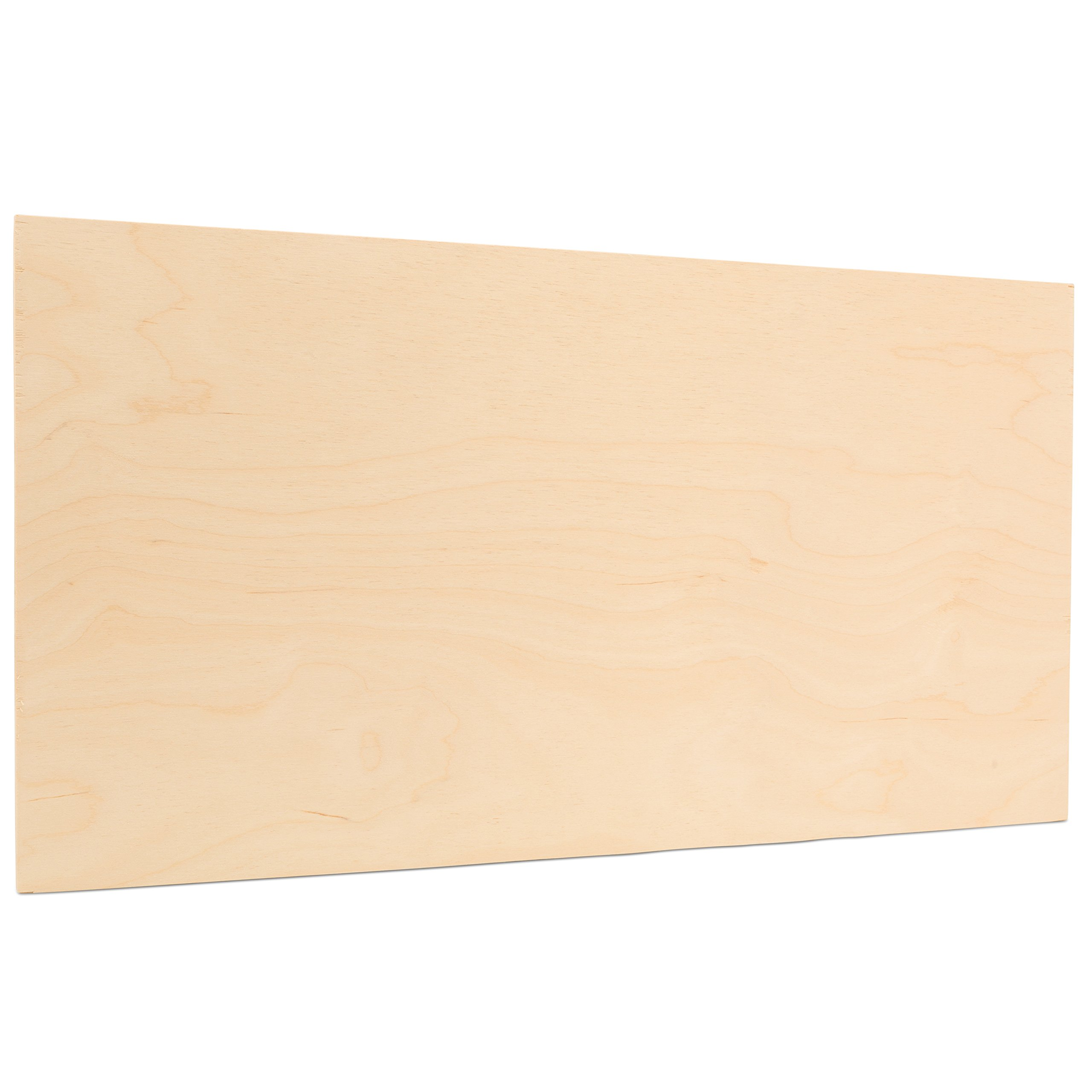 5 mm 1/4'' X 24'' X 24'' Premium Baltic Birch Plywood – B/BB Grade - 12 Flat Sheets By Woodpeckers
