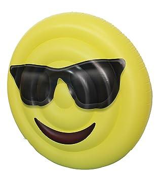 Sumun hi-tech Flotador Emoticono Gafas de sol 160CM: Amazon.es: Juguetes y juegos