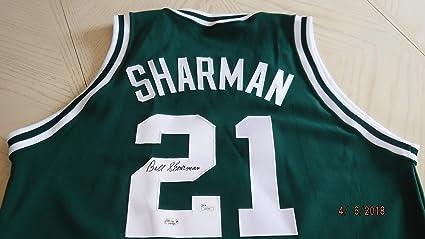 online retailer b97da 8f93d BILL SHARMAN Signed Celtics Basketball Jersey - JSA ...