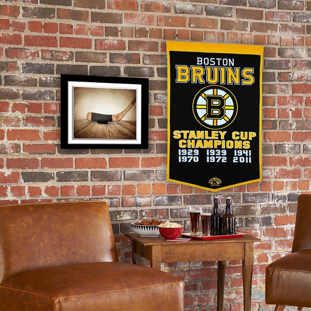 Amazoncom NHL Boston Bruins Dynasty Banner Sports Fan Wall