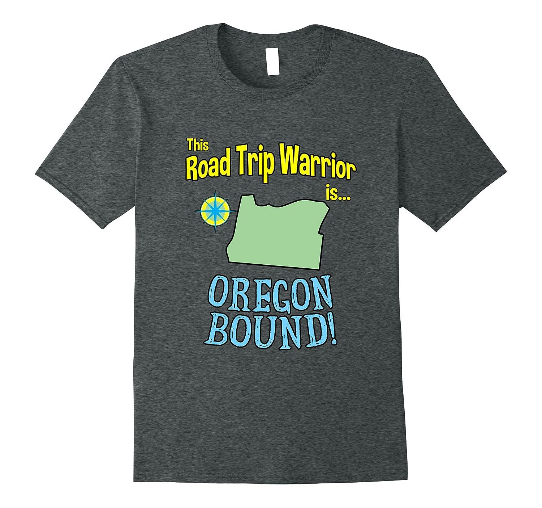 2017 Oregon Road Trip Warrior Family Vacation Tshirt-CD