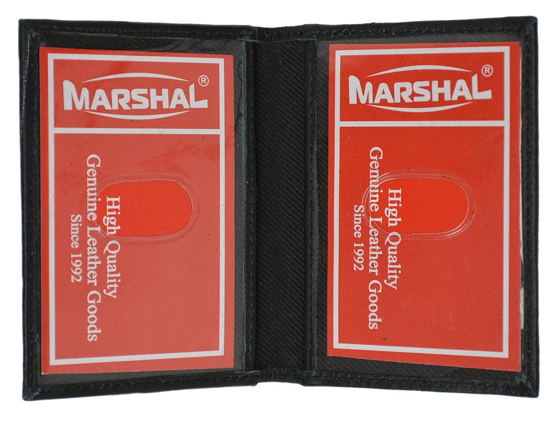 slim thin leather credit card id mini wallet holder bifold