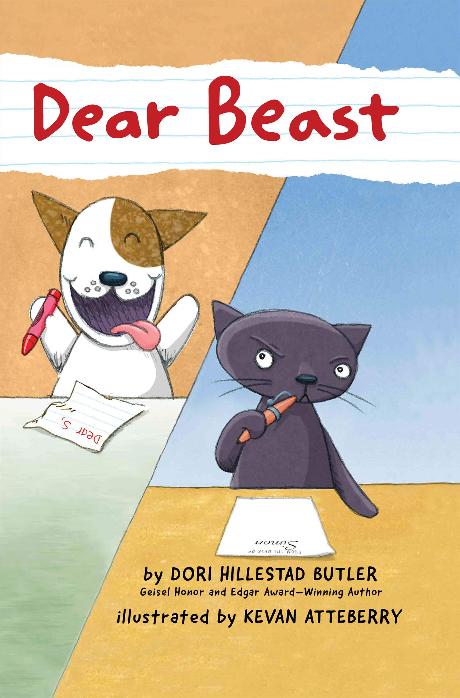 Amazon.com: Dear Beast (9780823444922): Butler, Dori Hillestad, Atteberry, Kevan: Books