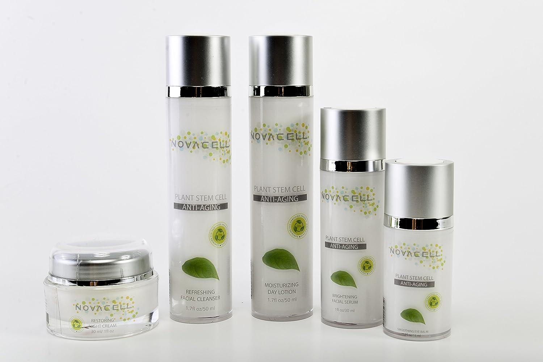 c2a3a8fb1acae Amazon.com   Novacell Plant Stem Cell Facial Care- 1oz 1.7 oz 1.7 oz 0.5 oz    Beauty