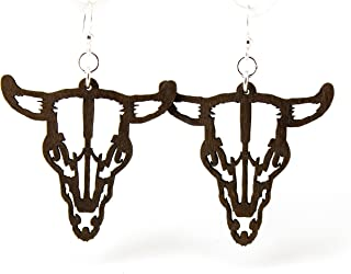product image for Steer Skull Earrings
