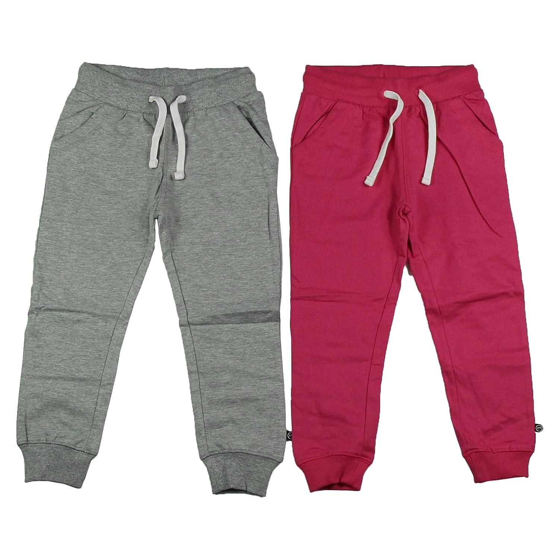 Minymo Basic 37 -Sweat Pant (2-Pack), Pantaloni per bambine e ragazze 3937