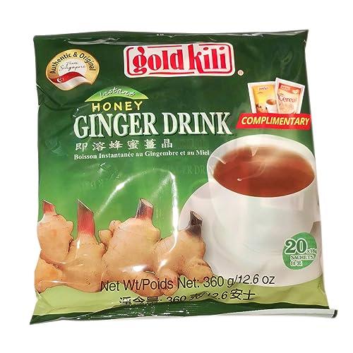 GoldKili Ginger Drink 360g.20 Sachets (Pack of 4)