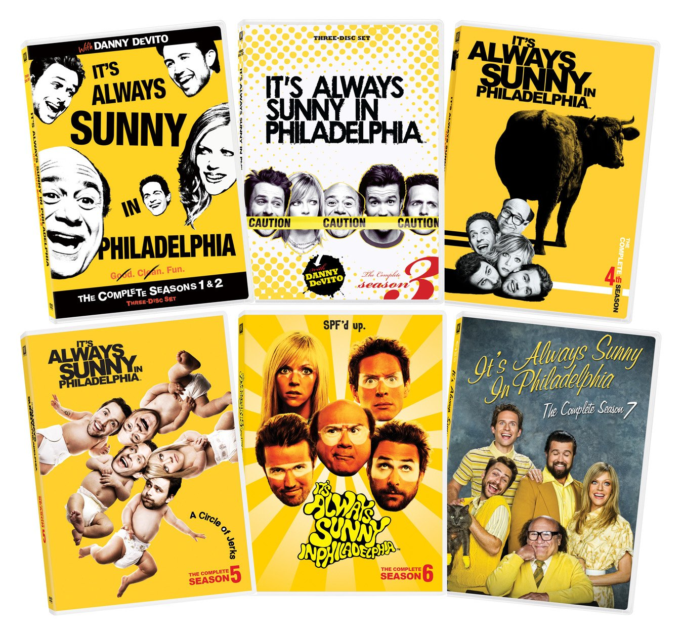 It's Always Sunny In Philadelphia Seasons 1-7 Collection by 20th Century Fox