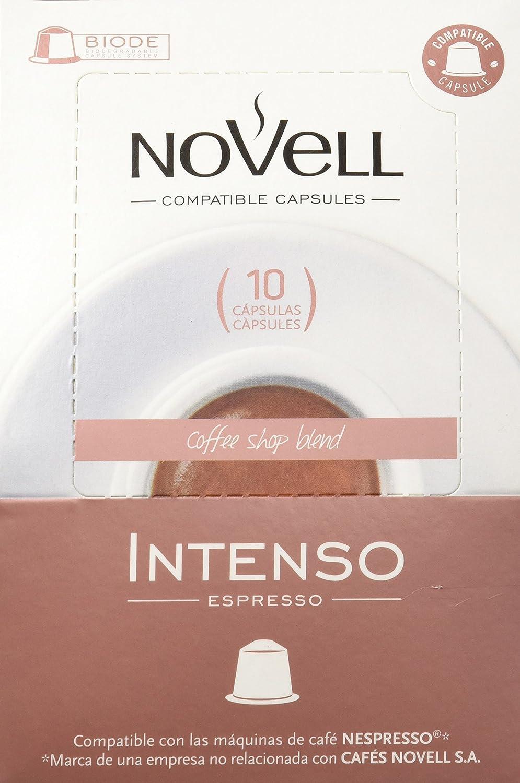 Cafes Novell Pack Intenso - 40 Cápsulas: Amazon.es: Alimentación y ...