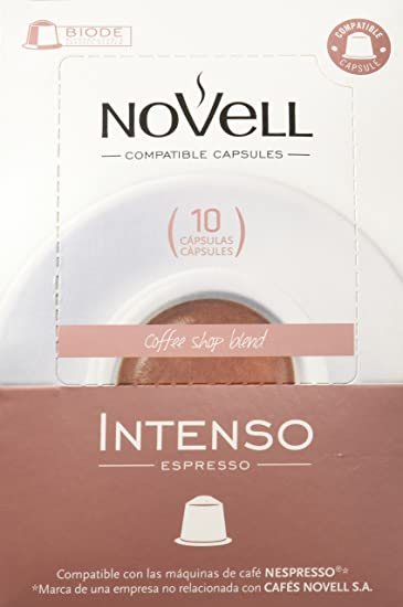Cafes Novell Pack Intenso - 40 Cápsulas