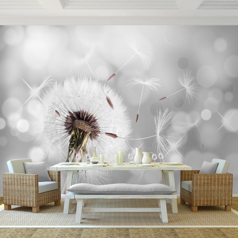 Tapisserie Photo Pissenlit 396 x 280 cm Laine papier peint Salon Chambre Bureau Couloir d/écoration Peinture murale d/écor mural moderne 9155012a 100/% FABRIQU/É EN ALLEMAGNE