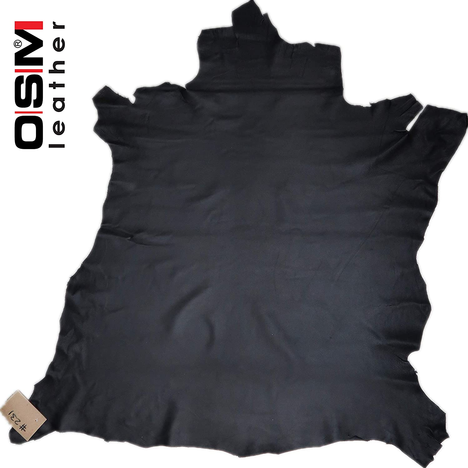 1.25-1.5oz OSM Lambskin Leather Hide #231 Sofitic 0.5-0.6mm 6SF for Garments Upholstery Handbags Purses Wallets Home Decoration and Leather Crafting