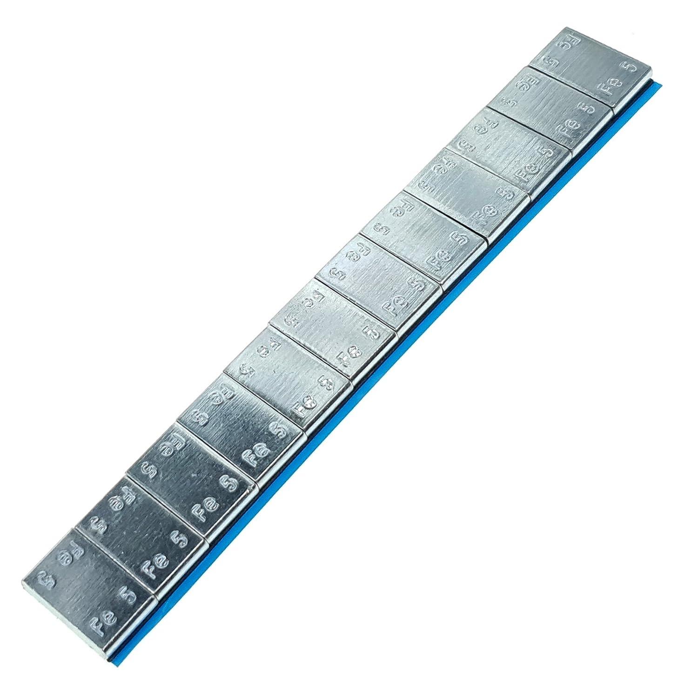 Stix Klebegewichte Riegel 12x5g 60g Auswuchtgewichte mit Abri/ßkante Verzinkt Wuchtgewichte f/ür Alufelgen 400 St/ück 24KG