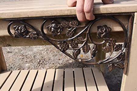 decorative wrought iron indoor stair railings buy.htm amazon com southern metal rose garden mailbox corner post accent  amazon com southern metal rose garden