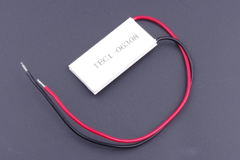 SMAKN 4020mm TEC1-06308 Electronic Thermoelectric Cooler Peltier Plate Module heatsinks