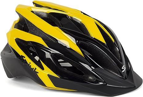 Spiuk Tamera - Casco de Ciclismo, Color Amarillo/Negro, Talla 58 ...