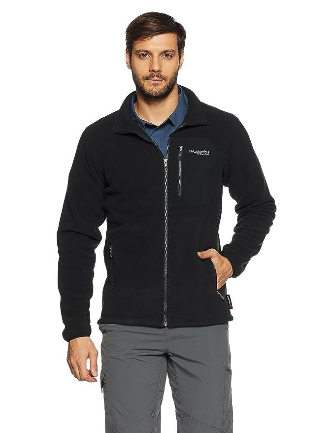 Columbia Titan Pass 2.0 Fleece Jacket Chaqueta Polar, Hombre: Amazon.es: Deportes y aire libre