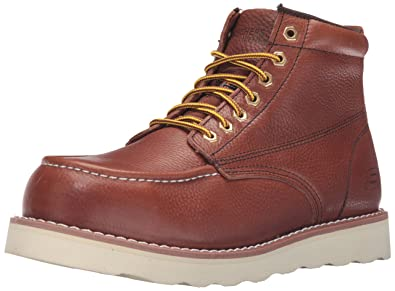 f49a737ecd14 Amazon.com  Skechers for Work Men s Pettus Grafford Boot  Shoes