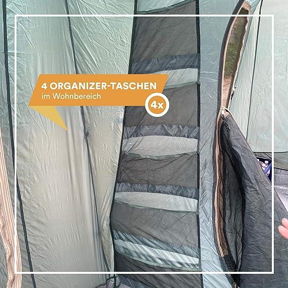 Skandika Gettysburg 8 Person Family Tunnel Tent
