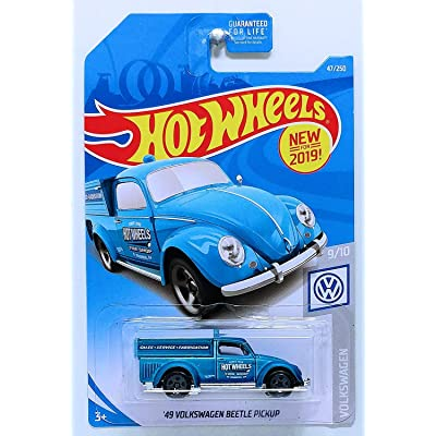 Hot Wheels 2020 Basic Mainline Volkswagen - '49 Volkswagen Beetle Pickup: Toys & Games
