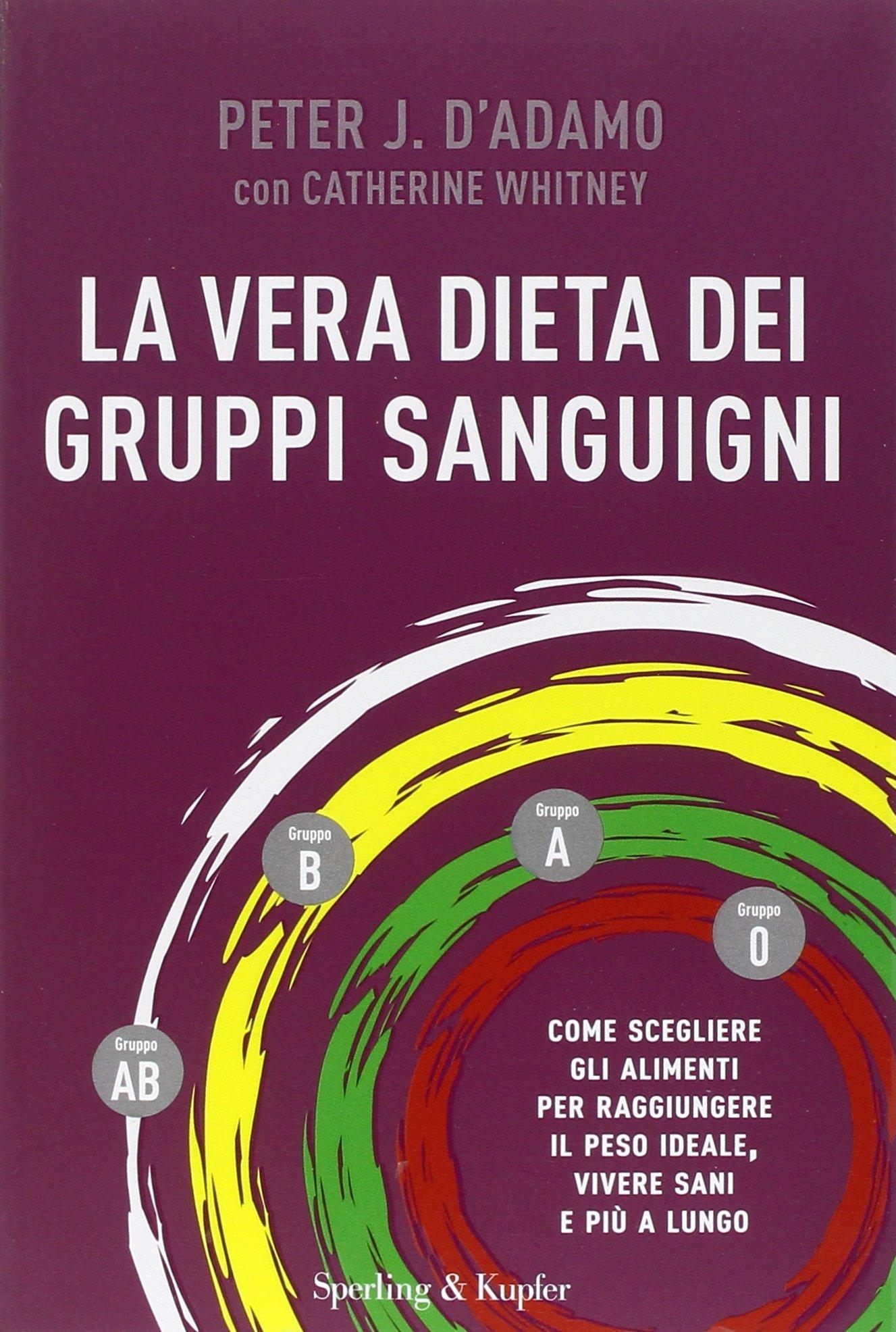 libro dieta gruppo sanguigno amazon