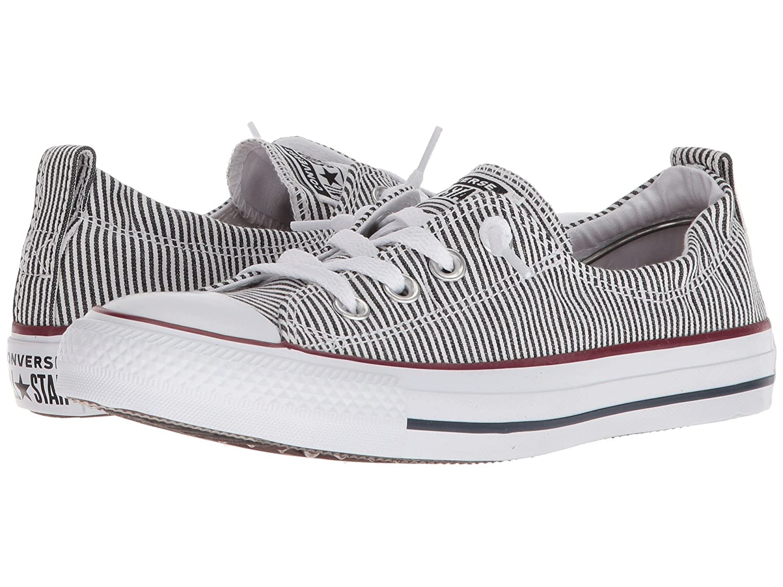 Converse Chuck Taylor All Star Shoreline Slip-ON Sneaker - Women's B075ZY4QM3 10.5 B(M) US|Black/White/White