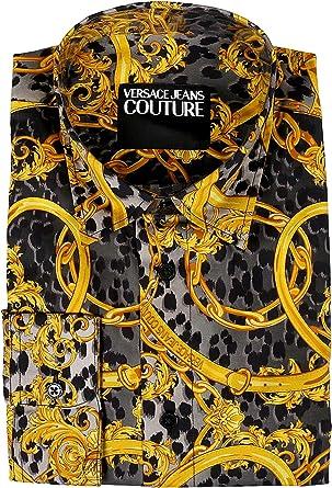 Versace Jeans Couture B1gva6ra Sm200 Pantalones Vaqueros Para Hombre Color Negro Talla 50 Amazon Es Ropa Y Accesorios